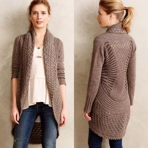Angel Of The North Open front Cardigan